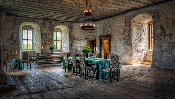 Interior at Torpa Stenhus.