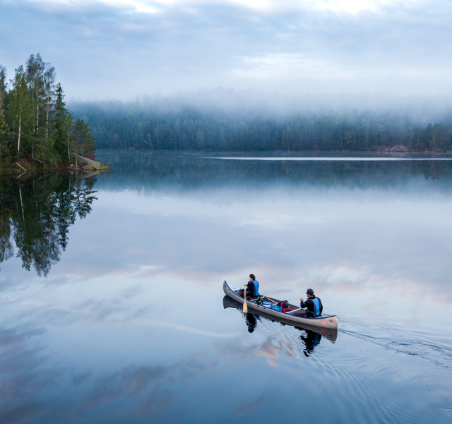 Paddla i Dalslands sjöar