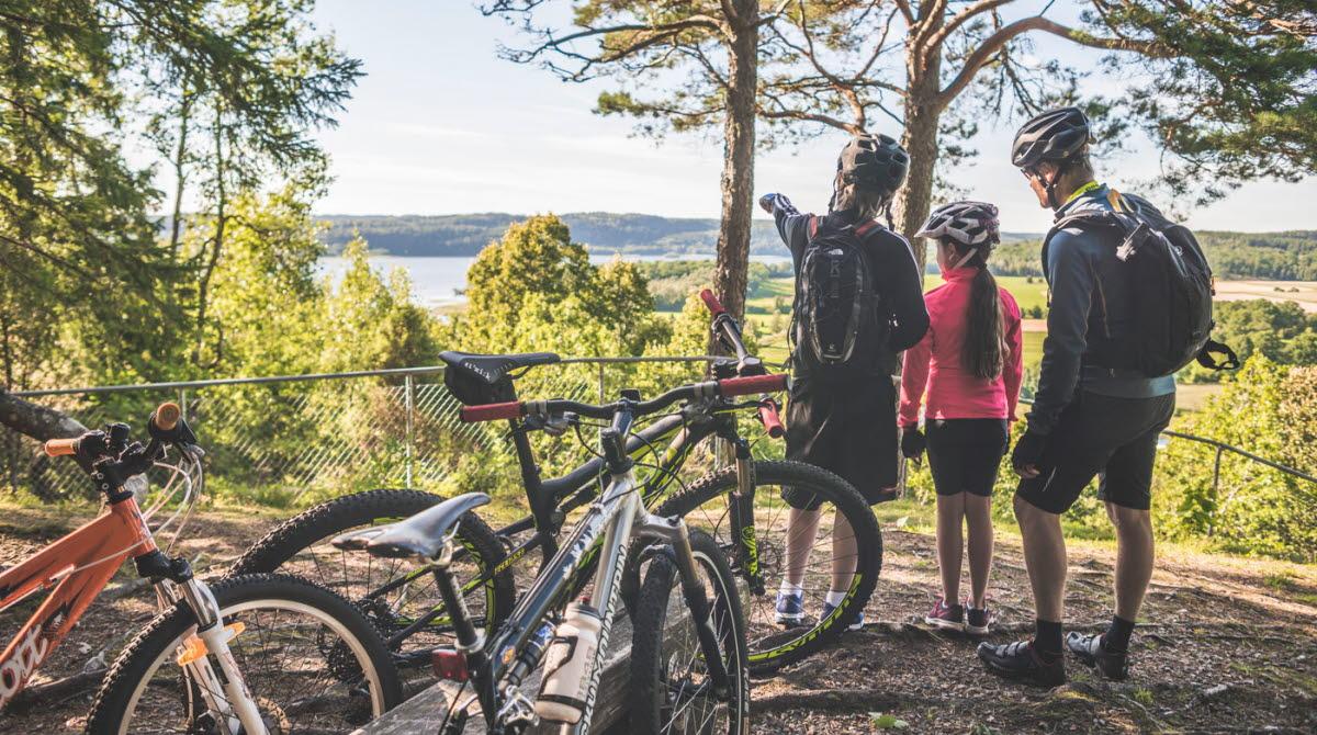 Cyklister i Ulricehamn