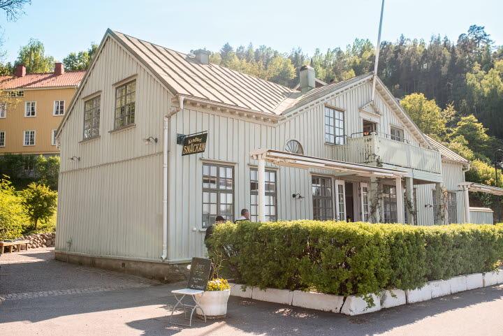Konditori Snäckan, ett anrikt café i byggnad från 1800-talet