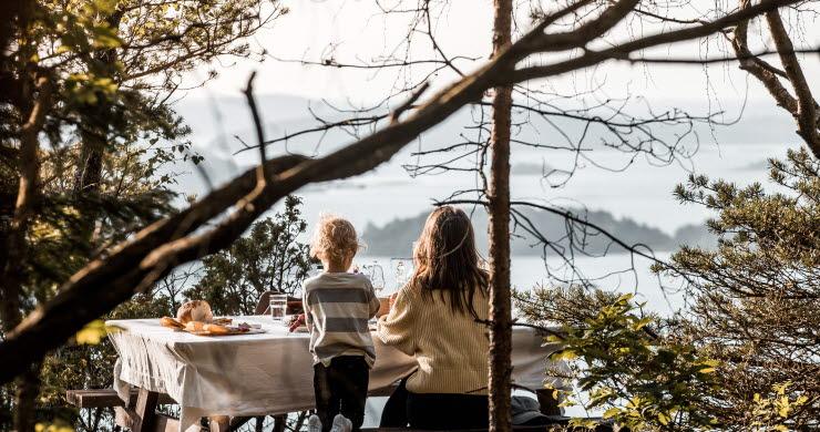 Camping vid Ljungskile