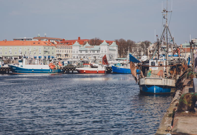 Fiskebåtar i Strömstadshamn