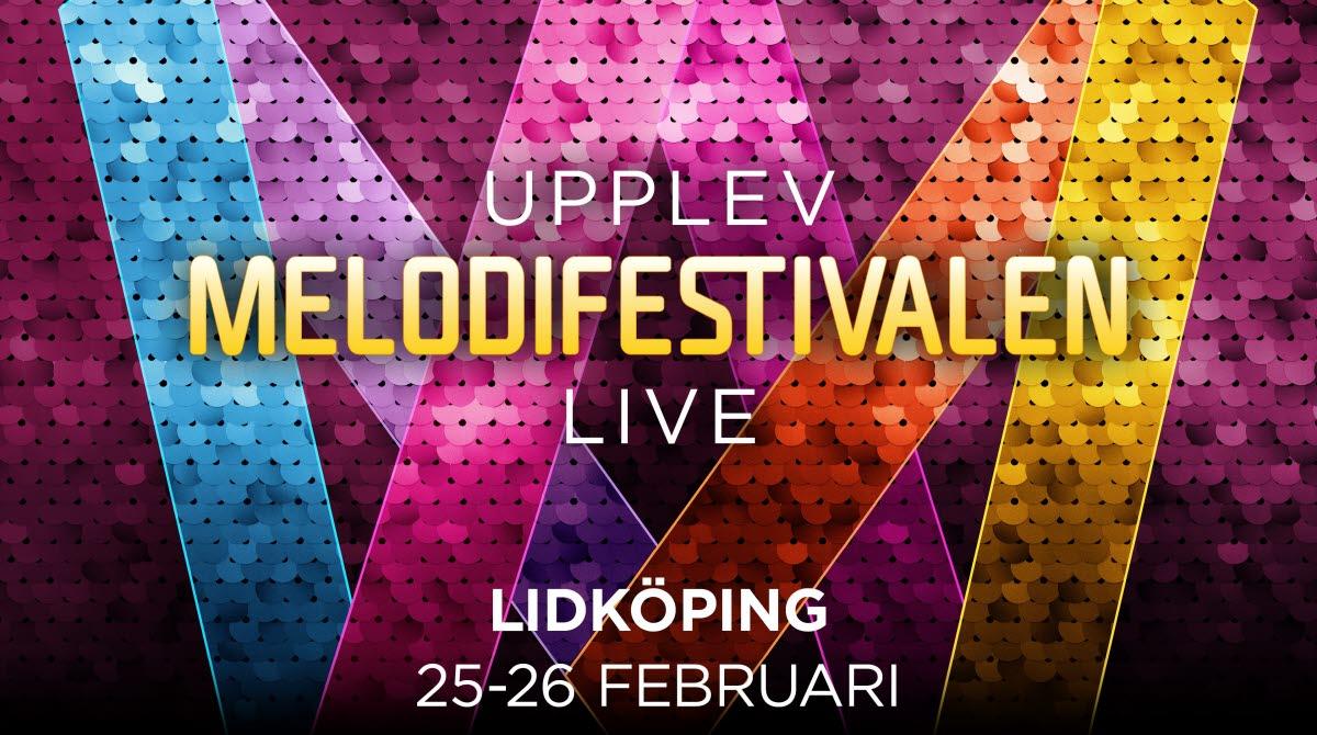 Melodifestivalen kommer till Lidköping