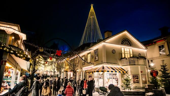 Jul på storgatan Liseberg.