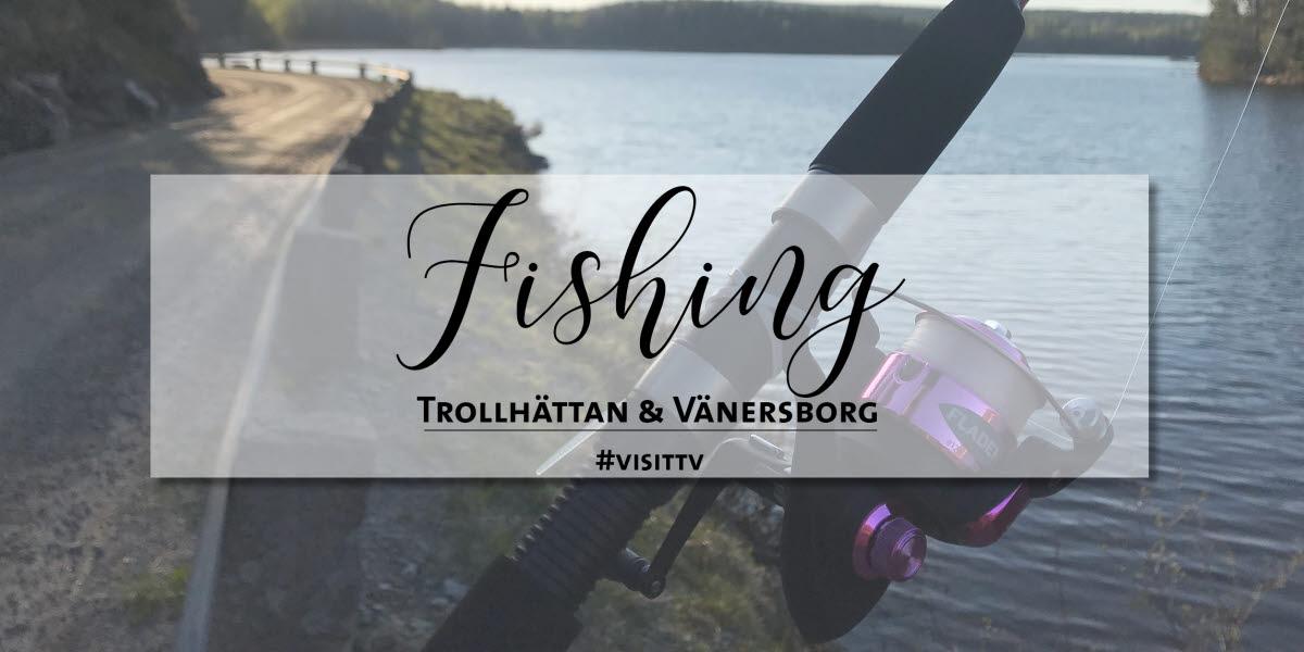 Närbild fiskespö.
