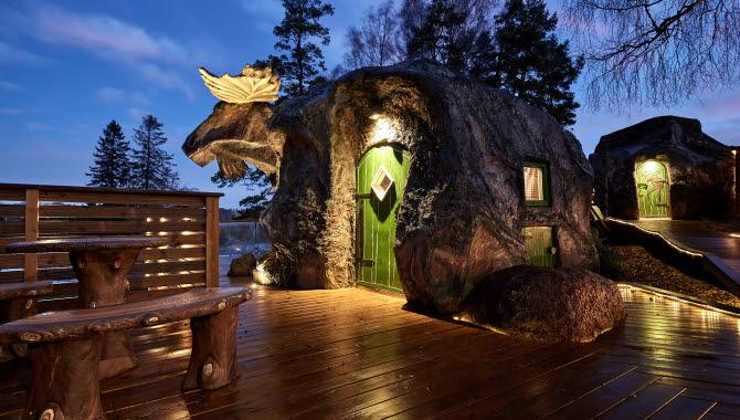 The moose house at Wrågården