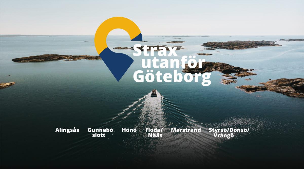 Toppbild strax utanför Göteborg