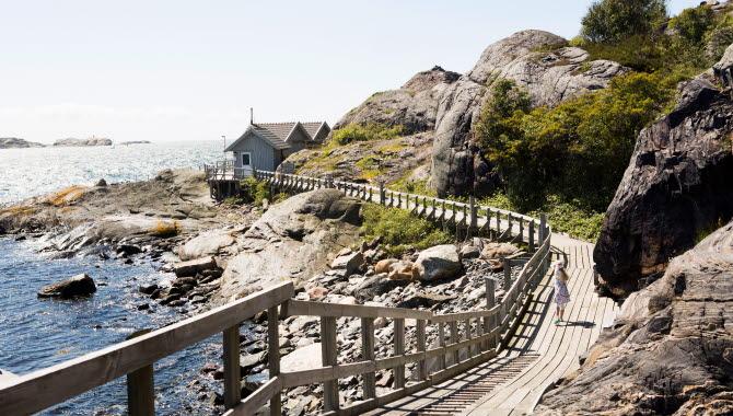 Pathway on Dyrön