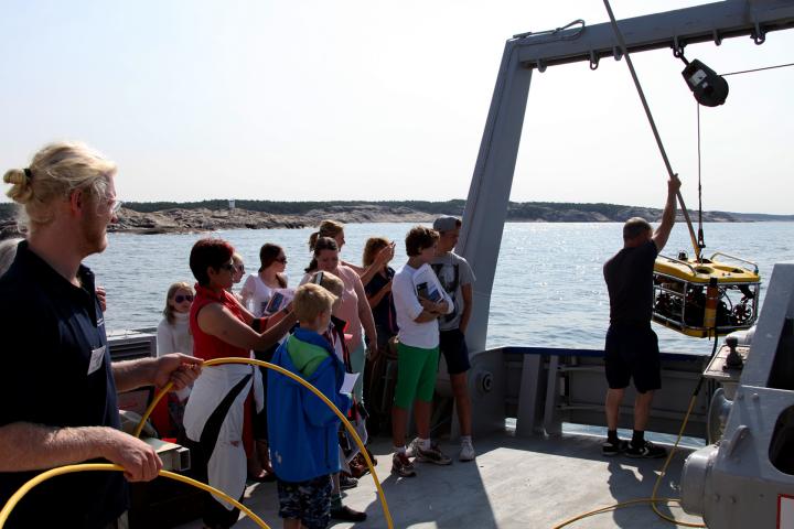 Filmning i Kosterhavet