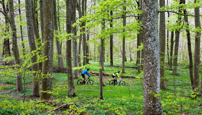 Cyklister i Valle