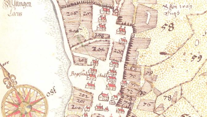 Ulricehamns karta för längesedan