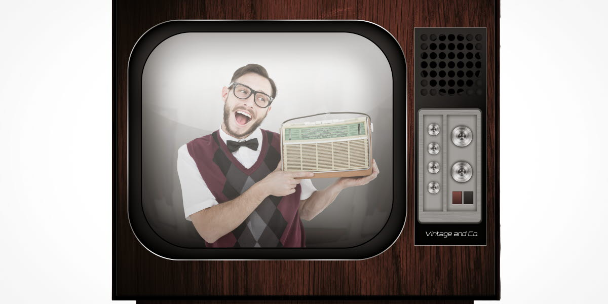Gammal tv.