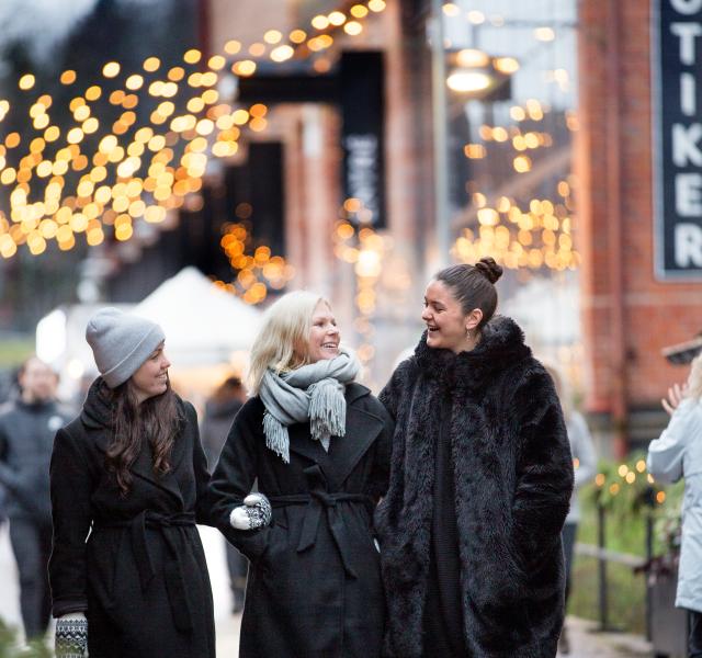 Julmarknad på Nääs Fabriker