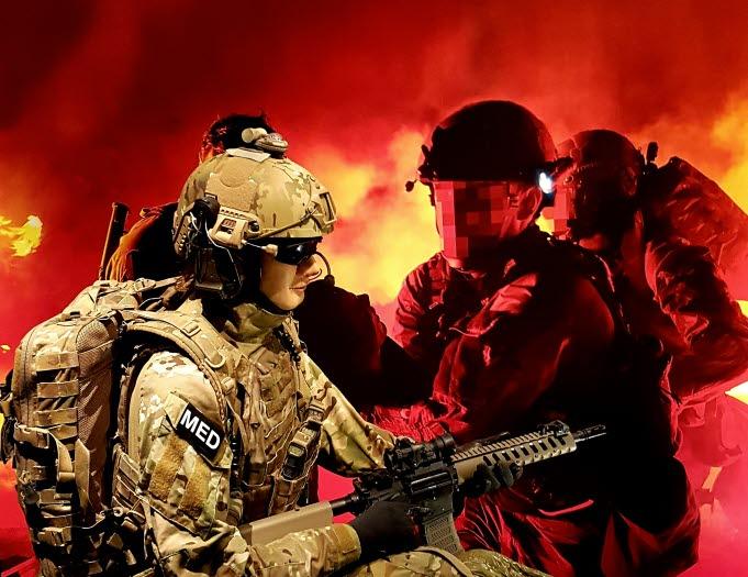 Militärer fightas