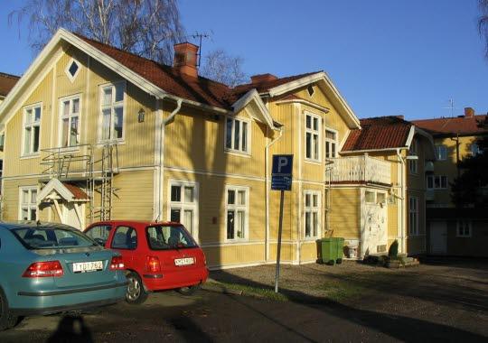 Gula Villan Hostel in central Trollhättan