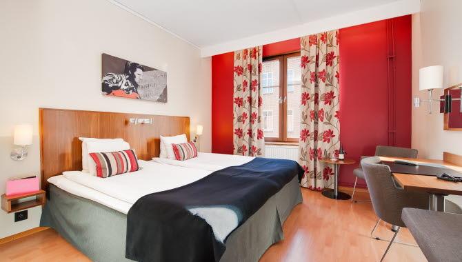 Dubelrum på Clarion Collection Hotel Kung Oscar.
