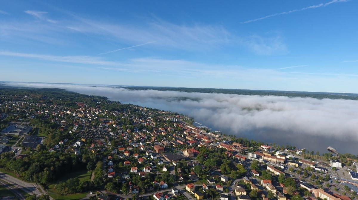 Vy över Ulricehamn