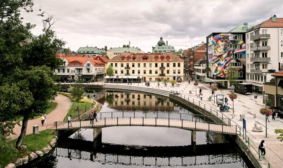 Väggmålningar i Borås