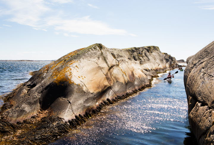 Sweden's most westerly lighthouse  is part of the Kosterhavet National Park.