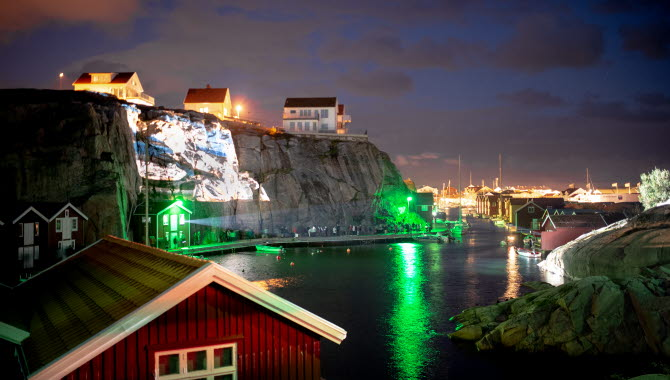 Island of Light- Festival on Smögen during September