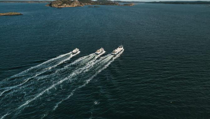båtar på havet