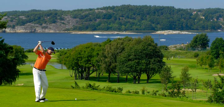 Karta Over Golfbanor I Sverige.Golfbanor I Vastsverige