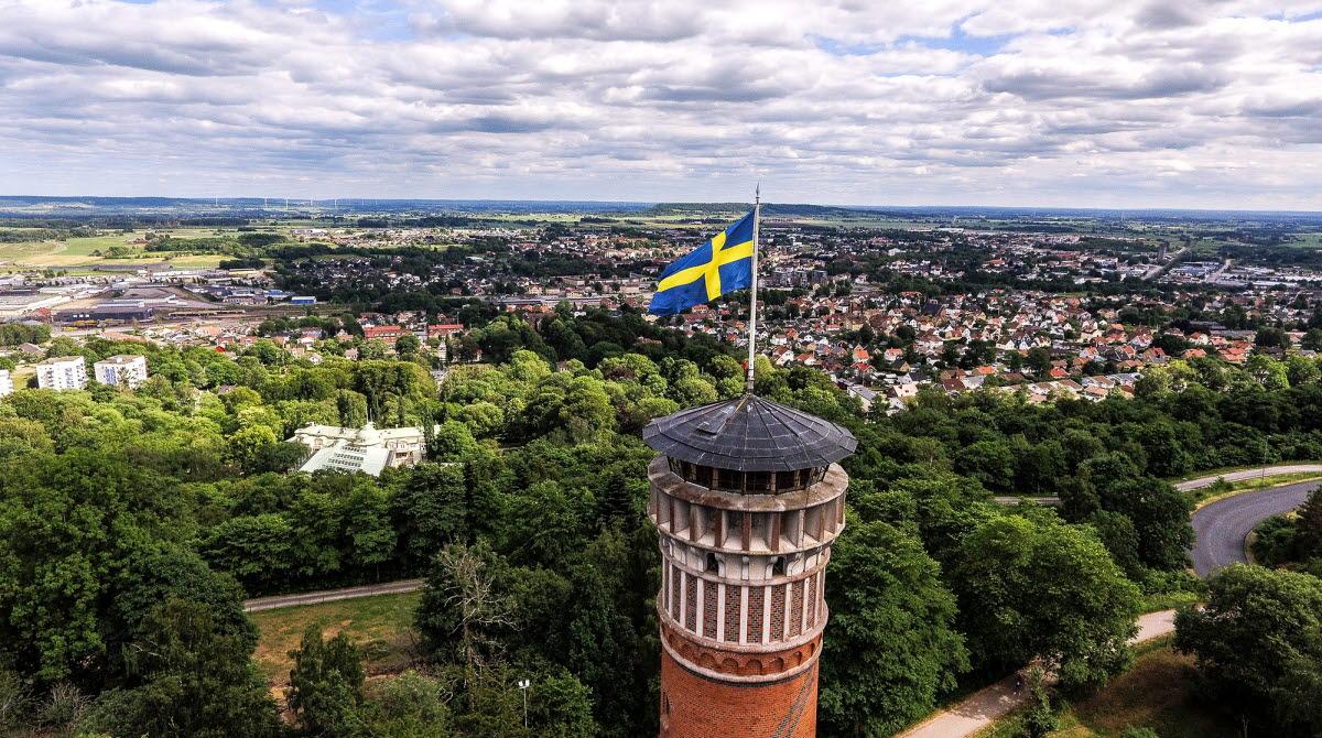 Viewtower of Mösseberg.