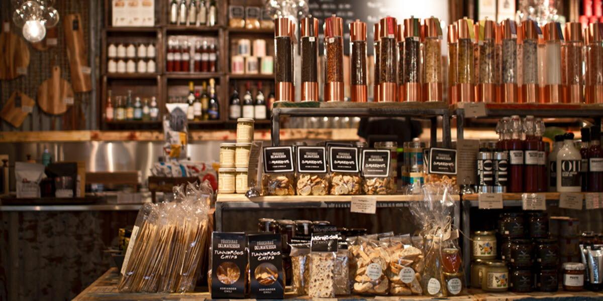Din deli är en delikatessbutik i Ulricehamn