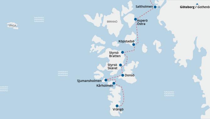 göteborgs skärgård karta