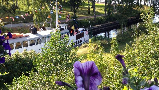 Storholmen läns Dalslands Kanal i Bengtsfors