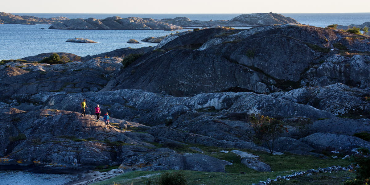 Hike on Koster Island