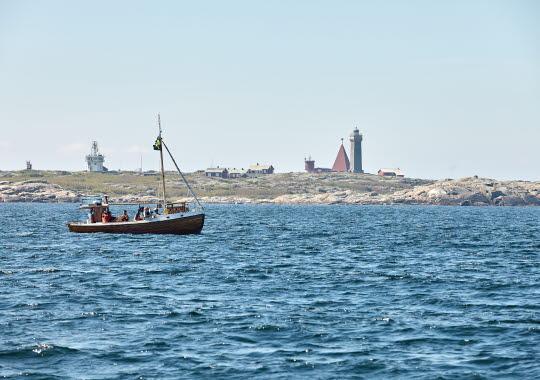 Fisketur utanför Hönö Vinga