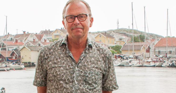 Sven Laurell, ordförande Skaftö Öråd Kanalfesten Grundsund Skaftö 2018