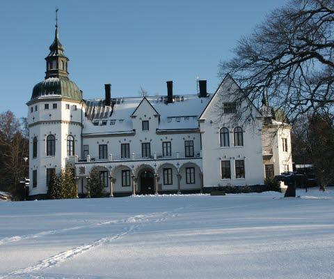 Hellidens Slott i vinterskrud