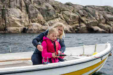 Fishing from boat- Photo Cred Mikael Pihlstrand