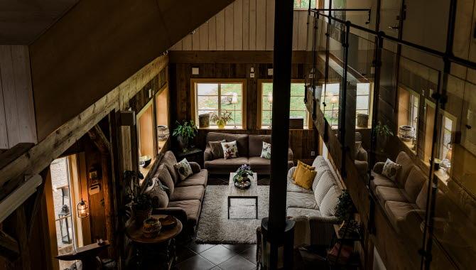 Interior at Kvarnen i Hyssna.