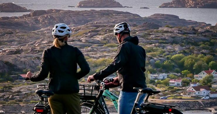Hike & Bike par med utsikt