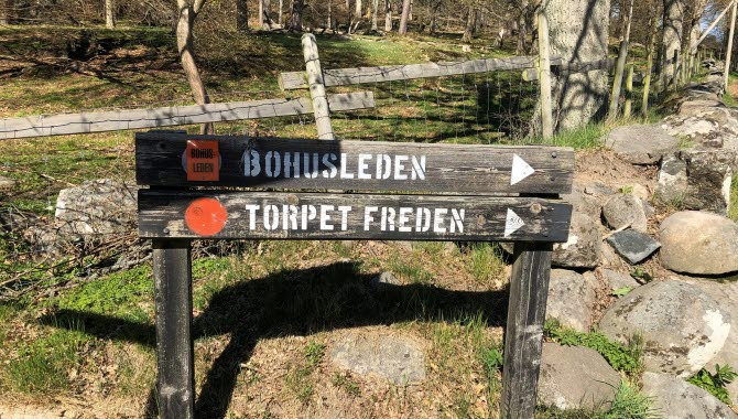 Bohusleden - sign