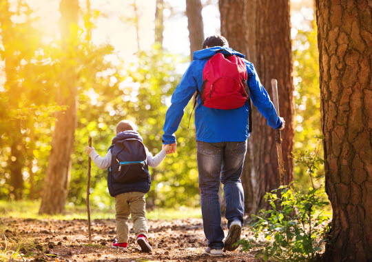vandra med barn