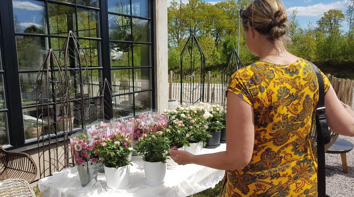 Shoping blommor, Ods Textil i od