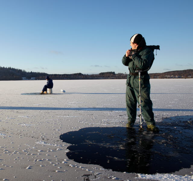 Winter in ulricehamn for Ice fishing deals