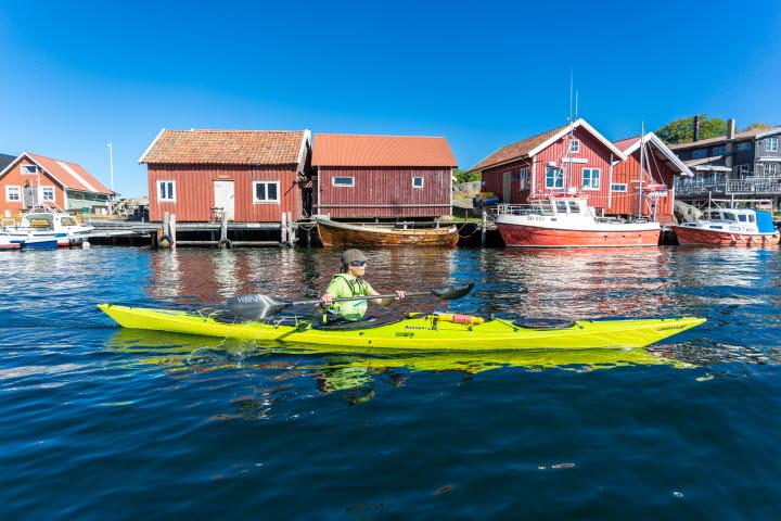Kajak i Bohuslän