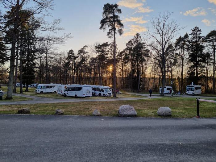 Vy från Trollhättans Camping City