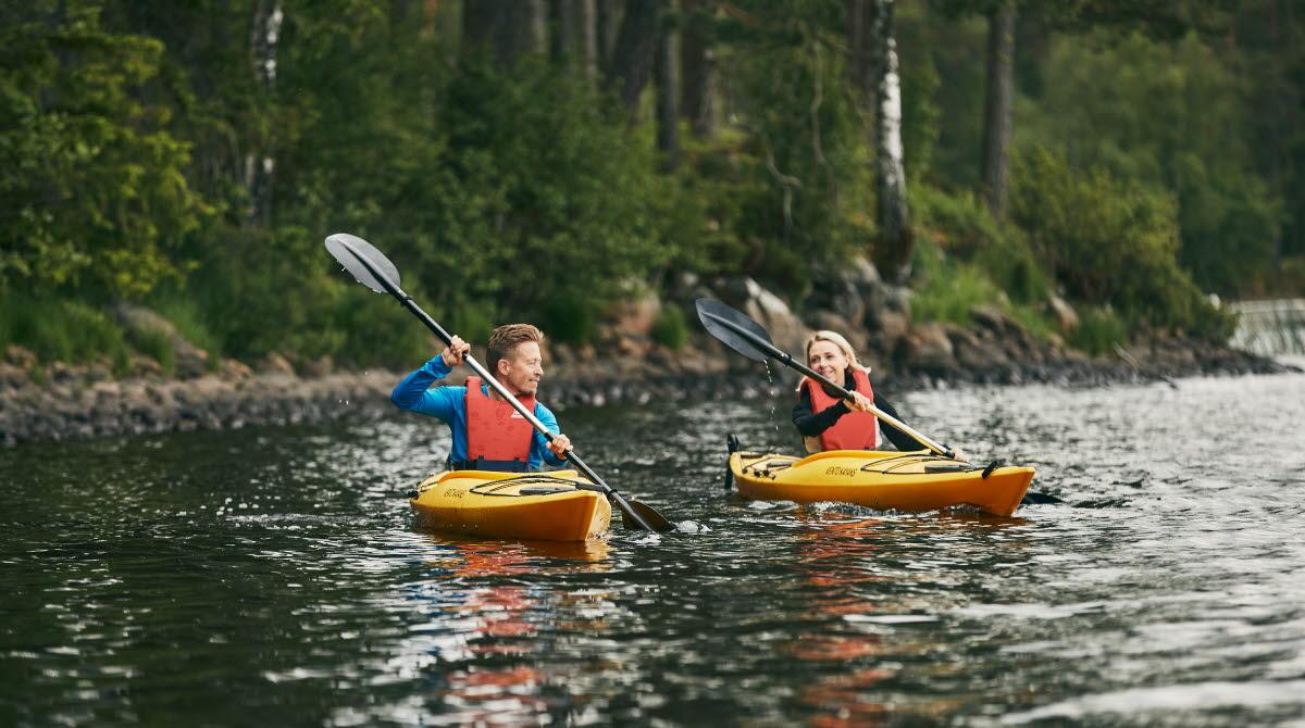 Kayak at Erikson Cottage