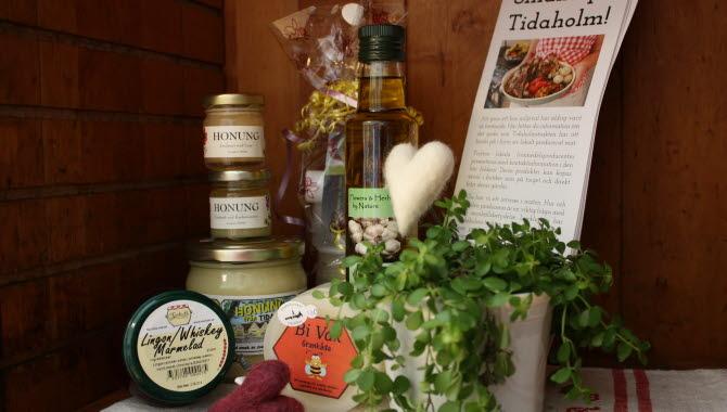 Närproducerade produkter såsom honung bisalva mm.