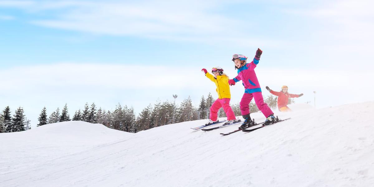 lära sig åka slalom som vuxen