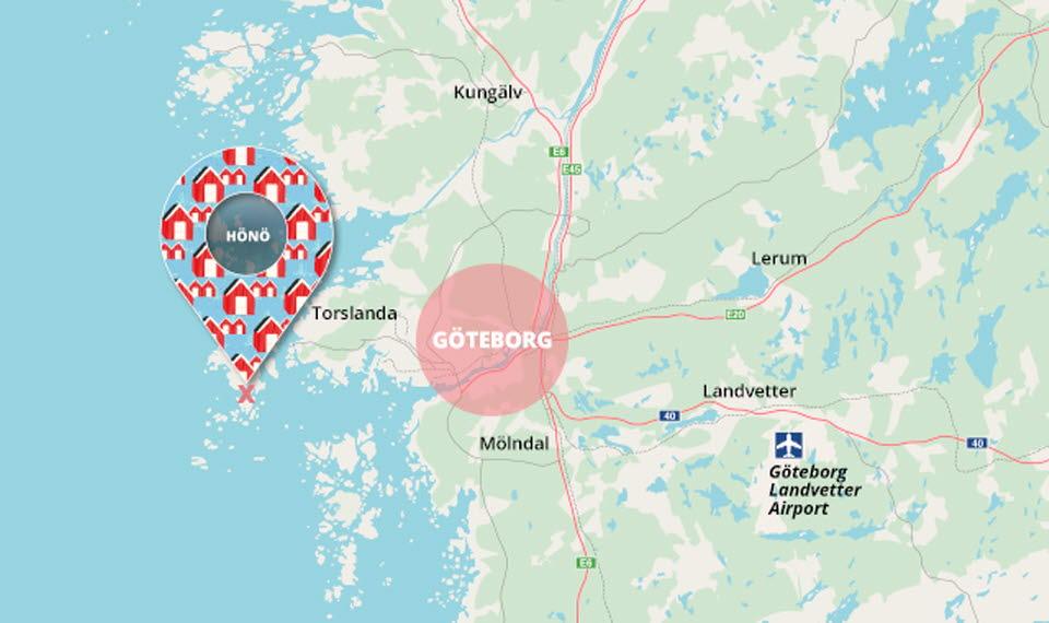 Göteborg Skärgård Karta