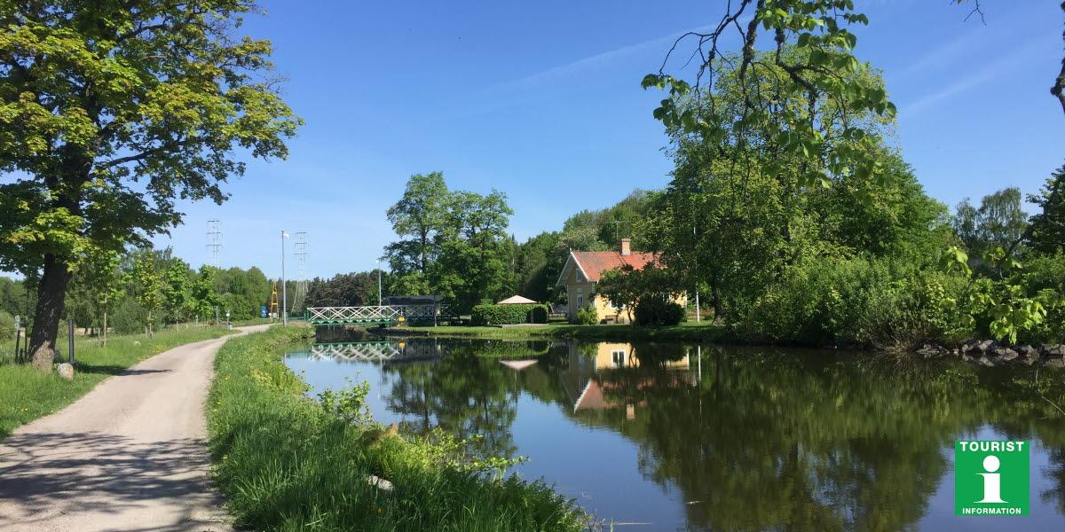 Töreboda vid Göta kanal