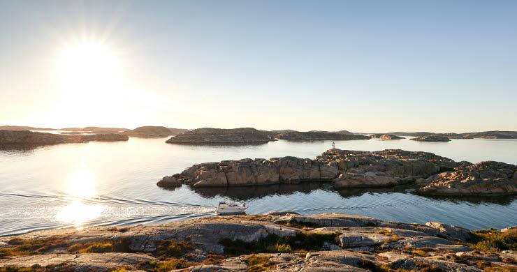 Summer in the archipelago of Bohuslän