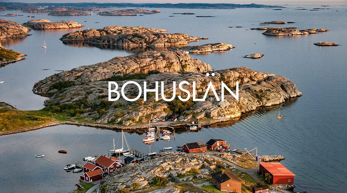 Karta Over Sveriges 25 Landskap.Bohuslan